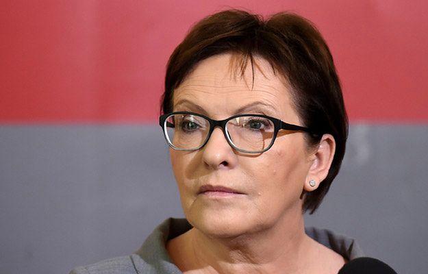 Premier Ewa Kopacz o decyzji Radosława Sikorskiego: duża strata dla polskiej polityki