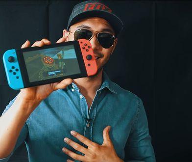 """Zrzucił Nintendo Switch z wysokości 300 metrów, a konsola nadal """"żyje"""" [WIDEO]"""
