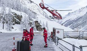 Szwajcaria. Polscy narciarze odcięci w śnieżnym chaosie. Służby wysadzają w powietrze zwały śniegu