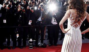 Zanim celebrytka stanie przed fotoreporterami, musi się nieźle napocić.