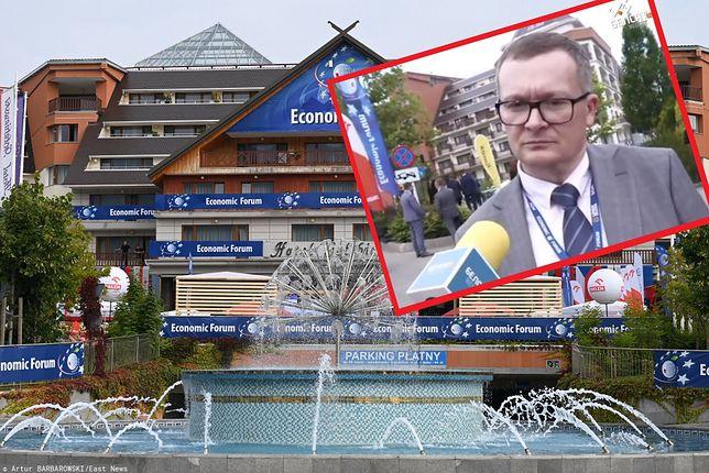 Obecność Jurija Woskriesienskiego na Forum Ekonomicznym w Karpaczu wywołała kontrowersje