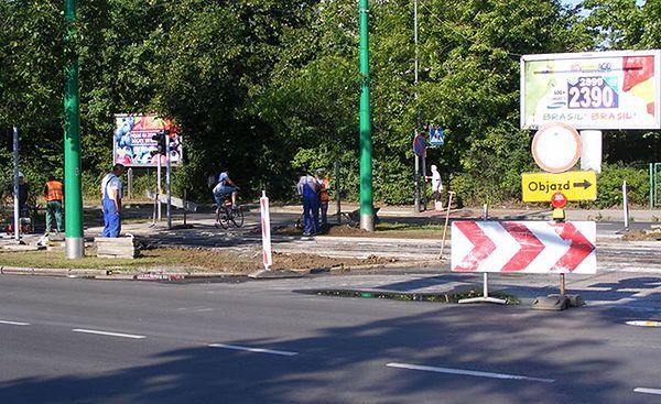 Kolejne utrudnienia w ruchu. Przebudowa torowiska przy ul. Grabiszyńskiej