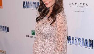 Weronika Rosati w ciąży. Aktorka promienieje coraz bardziej