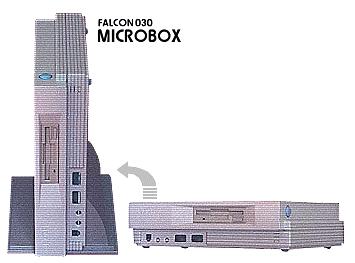 Falcon MicroBox Painter miał mieć możliwość pracy w pionie i poziomie, a bardzo przypomina to …. ???