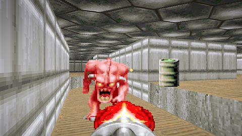 Ktoś zrobił mikroukład wyłącznie do Dooma. Użył 666 linijek kodu