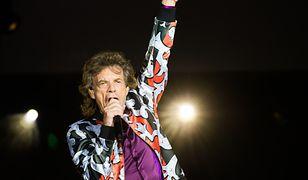 Mick Jagger koncertuje z zespołem The Rolling Stones