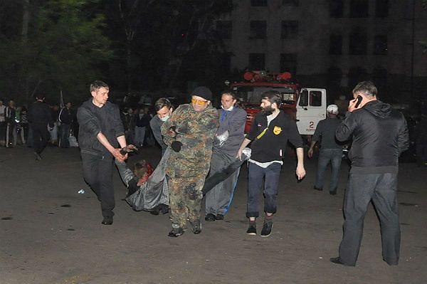 46 zmarłych po zamieszkach w Odessie
