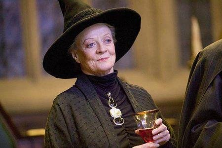 Profesor McGonagall choruje na raka
