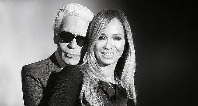 Joanna Przetakiewicz przyjaźniła się z Karlem Lagerfeldem