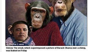"""Prezydent jako szympans - """"to miał być żart"""""""