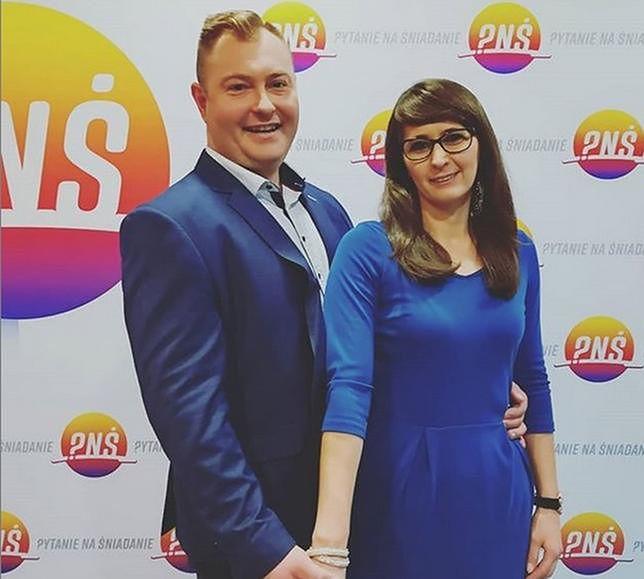 Agata Rusak i Łukasz
