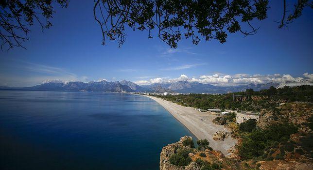 Plaża w Antalayi