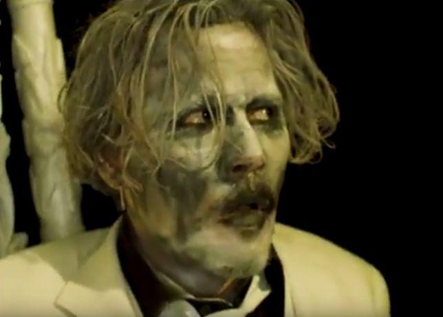 Kontrowersyjny duet chwali się nowym klipem. Johnny Depp wystąpił w teledysku Marilyna Mansona