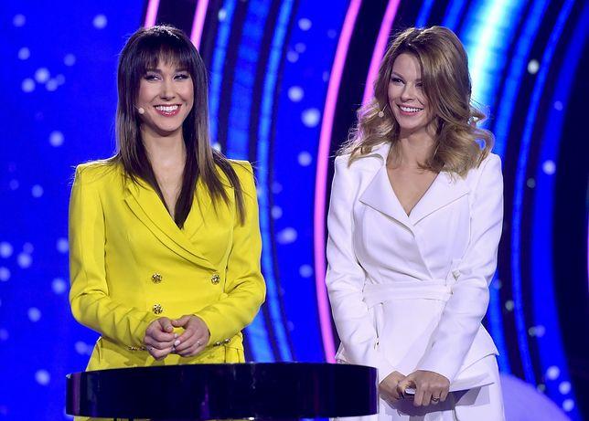 Ida Nowakowska i Małgorzata Tomaszewska prowadziły razem galę Eurovision Junior.