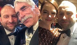 Borys Szyc pokazał najlepsze momenty Oscarów.