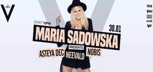 Maria Sadowska promuje nowych artystów