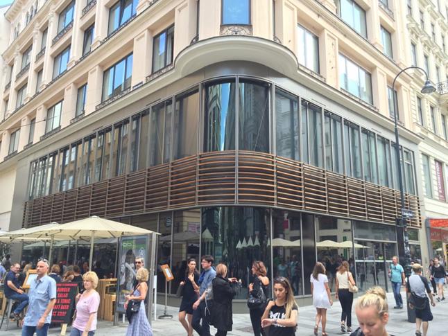 Tu będzie Apple Store w Wiedniu.
