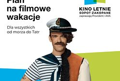 Provident i AXA zapraszają na festiwal Kino Letnie Sopot - Zakopane