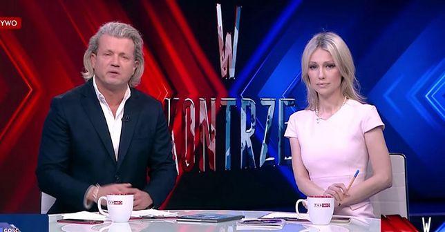 """Jarosław Jakimowicz i Magdalena Ogórek są prowadzącymi programu """"W kontrze"""""""
