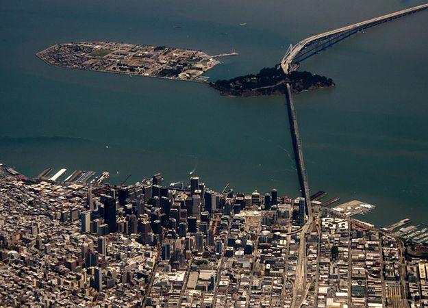 San Francisco - widok na downtown