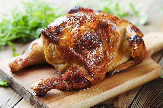 Kurczak z piekarnika lub rożna