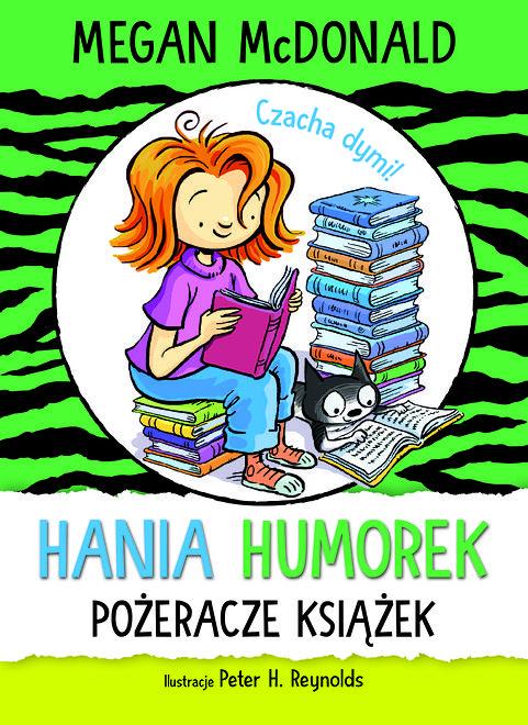 Oto kolejna książka z cyklu przygód Hani Humorek