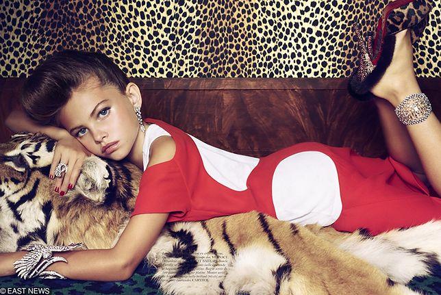"Thylane Blondeau we francuskim ""Vogue"""