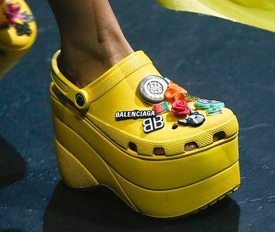 Najdziwniejsze buty na sezon wiosna-lato 2018. Szokują i odrzucają!