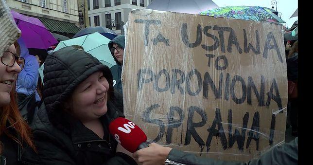 Strajk Kobiet na Placu Zamkowym