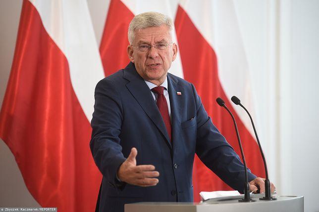 Stanisław Karczewski odniósł się do sprawy Mariana Banasia i sporu o rządową willę