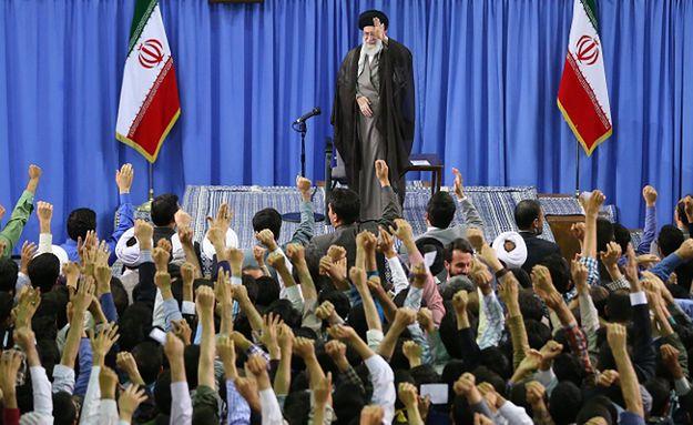 Jeden z irańskich przywódców Ayatollah Ali Khamenei