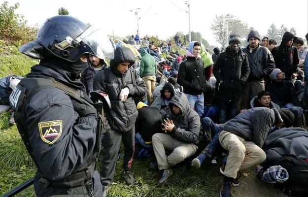 W ciągu ostatniej doby do Słowenii przybyło ponad 10 tys. uchodźców