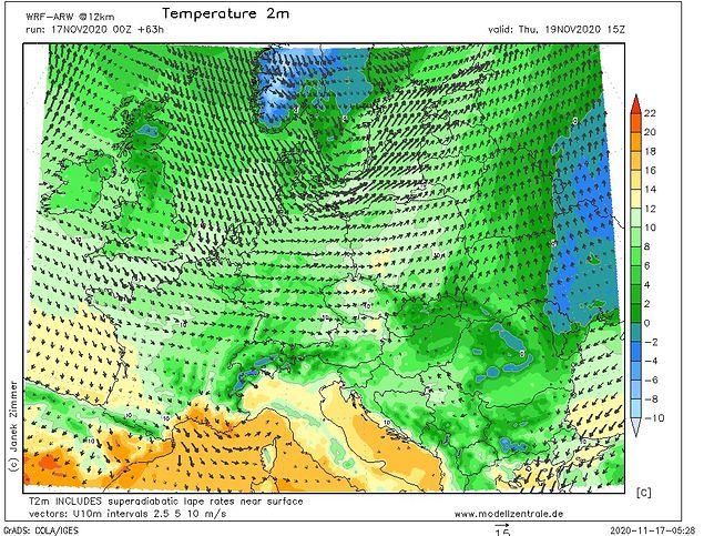 Pogoda. Środa i czwartek z wysokimi temperaturami