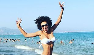 Omenaa Mensah na wakacjach w Hiszpanii. Co za figura!