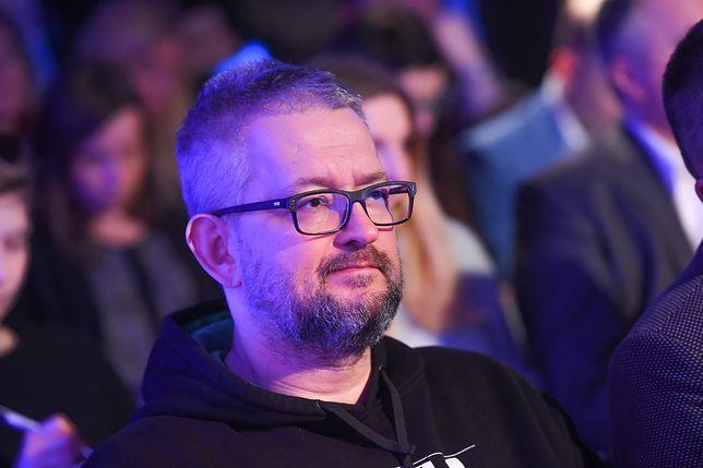 """Rafał Ziemkiewicz występuje w programie """"W tyle wizji"""" w TVP"""