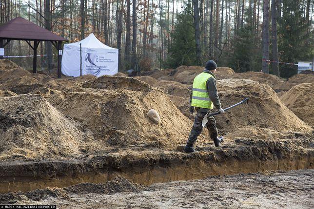 IPN odkrył szczątki ofiar nazistów w lesie pod Treblinką