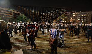Koronawirus. Takiego protestu jeszcze nie było. Ludzie wyszli na ulice w Tel-Awiwie