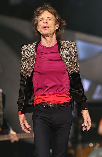 Syn Micka Jaggera skradł serca fotoreporterom. Malec jest przeuroczy!