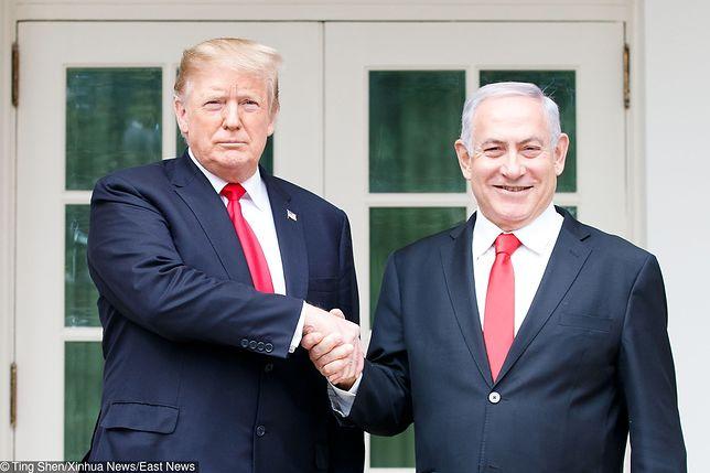 Donald Trump i Benjamin Netanjahu to bliscy sojusznicy