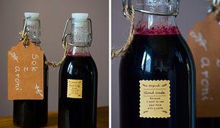 Domowy sok z aronii. Smak i zdrowie zamknięte w butelce
