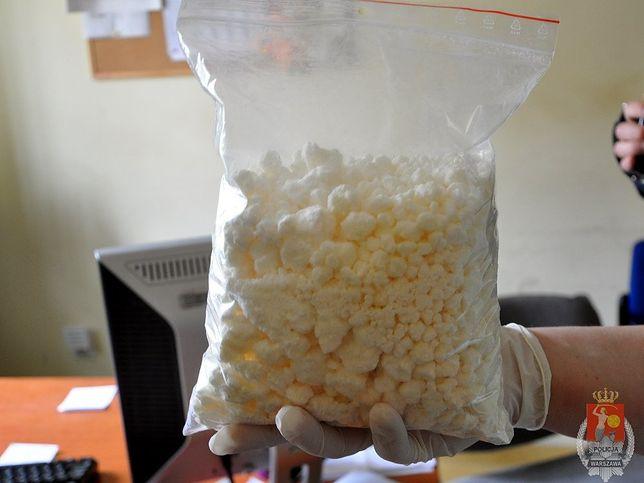 3 kilogramy amfetaminy w rękach stołecznej policji