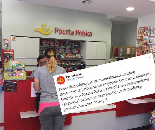 Koronawirus. Poczta Polska będzie dezynfekować długopisy. Co z kurierami?