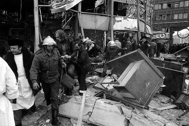 """Gmach uniósł się """"niczym bańka mydlana i pękł"""". 38 lat temu wybuchła Rotunda"""