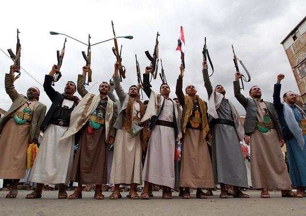 Szyiccy rebelianci Huti w Jemenie