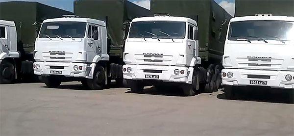 Władze Ukrainy: rosyjski konwój z pomocą nie wjedzie w eskorcie wojska