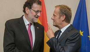 Donald Tusk na spotkaniu z Mariano Rajoyem