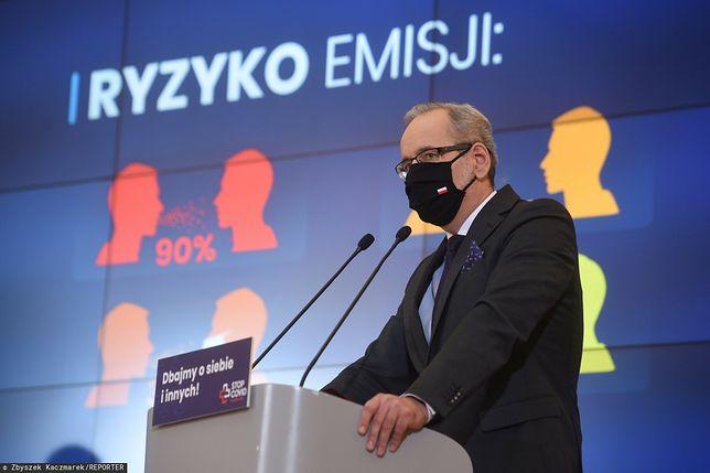Koronawirus. Minister zdrowia Adam Niedzielski (zdj. arch.)