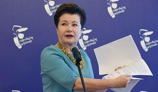 Prezydent Warszawy Hanna Gronkiewicz-Waltz