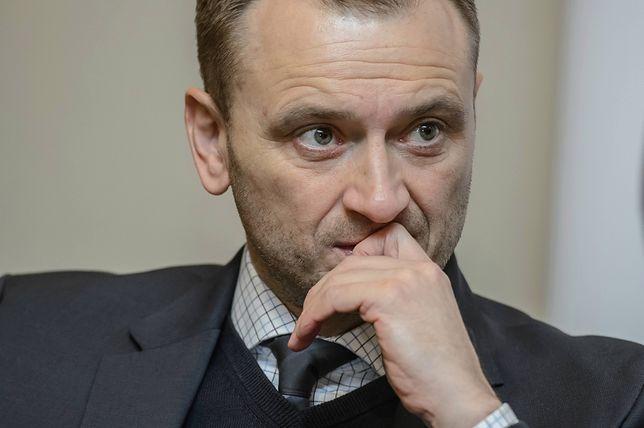 Sławomir Nitras odniósł się do czwartkowego incydentu na lotnisku im. Chopina
