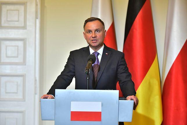 Podczas konferencji prasowej poruszona została także kwestia postawienia w Niemczech pomnika polskich ofiar II wojny światowej w Berlinie.